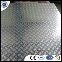 High quality aluminium checker plate/tread plate weight price