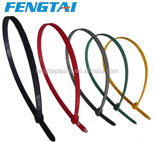 Self-locking Different Color Nylon Cable Tie