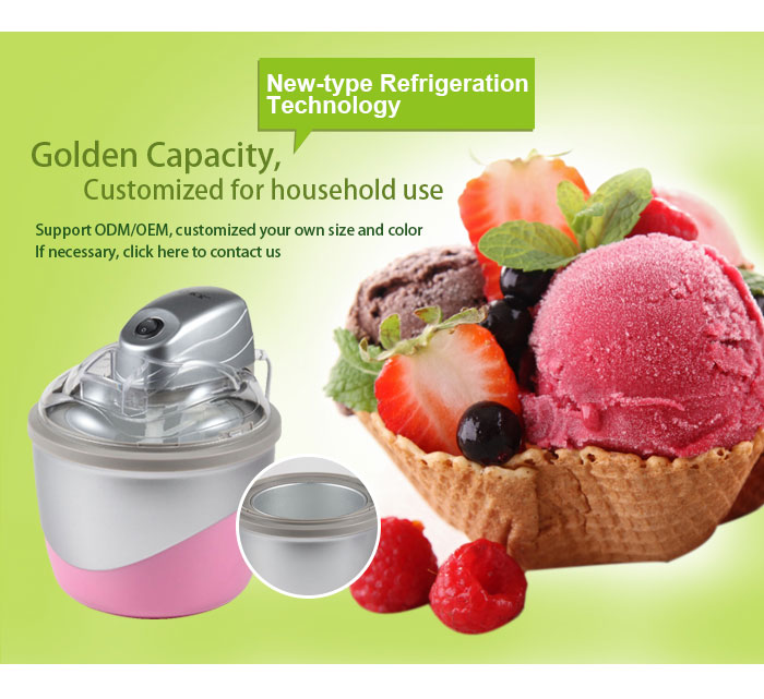 automatic frozen fruit ice cream maker