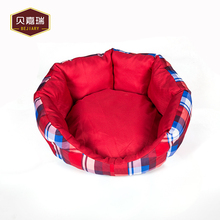 Quadrille Octagon Memory Foam Pet Washable Bed Dog Kennel