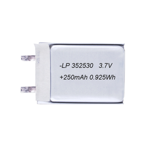 3.7v lipo battery 250mAh flexible customizable rechargeable lithium polymer battery for toys