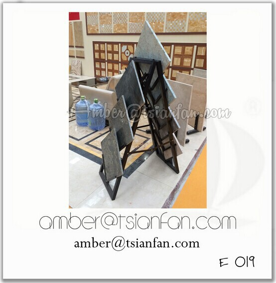 Showroom Natural Stone Slab Display Rack - Tsianfan E019