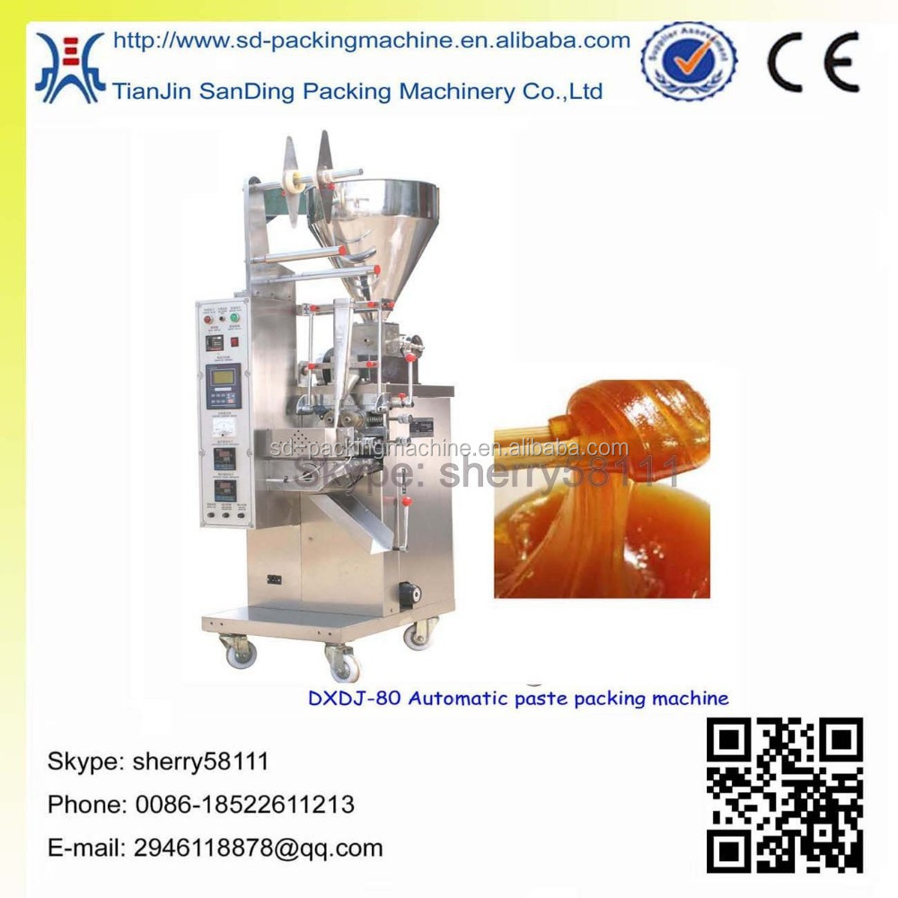 Sachet sauce packing machine with CE certification