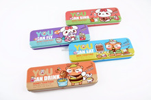 sublimation kids double layers metal pencil case DMA008