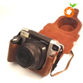 Pu Leather Dslr Camera Bag Cover compatible For Canon