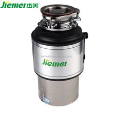 Jiemei overload protector stainless steel kitchen shredder food waste disposer for custom-made products