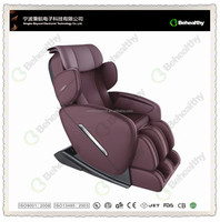 2016 Newest V Track Full Body 3D Roller Waist Thai Massage Chair with Shoulder Arm Airbags Remote Control Neck Shiatus CM-122