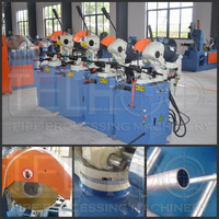 manual or semi-automatic iron pipe cutting circular saw machine
