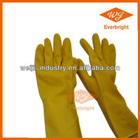 Hot Sell Household Latex Gloves Rubber Latex Coating
