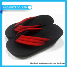 Promotional customized high quality durable wholesale platform high heel slipper