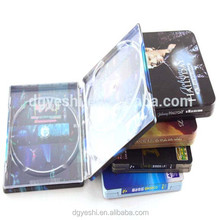 Recycle Metal Tin CD Case cool printed CD Tin Case