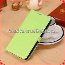 High quality Cell phone PU Leather Cover Case for samsung note 3