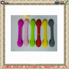 Hot sell Eco-freindly silicone finger phone grip/silicone sucher holder