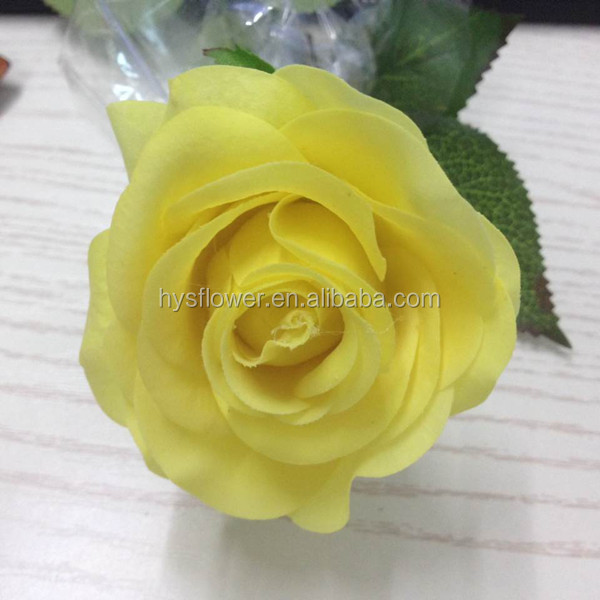 real touch small yellow rose artificial flower for sale natural fake rose flowers buy real. Black Bedroom Furniture Sets. Home Design Ideas