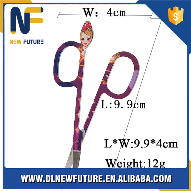 Multi-style eyebrow scissors,cosmetic manicure scissors, Female Beauty Make up tool For Eyebrows Clipper