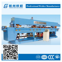 fully automatic space adjustable lattice girder welding machine