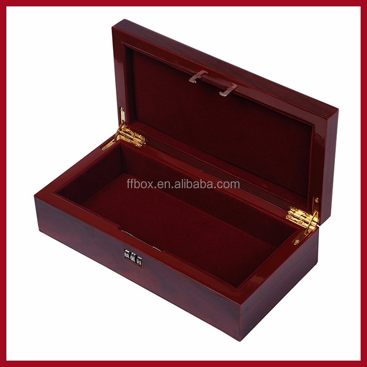 Decorative Boxes That Lock : High quality combination lock wooden box buy