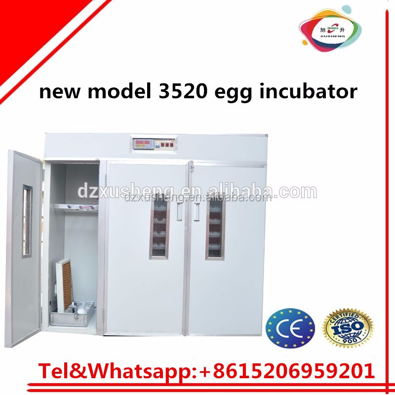 XSB-3 3520pcs low price 3520 duck chicken egg incubator for sale