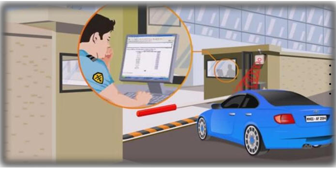 Low Cost Hands Free Car Parking Management System with Long Range Rfid Reader