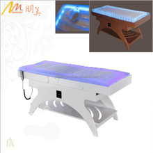 Mingmei best quality electric heated water Spa massage table with LED light