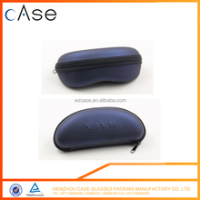 China leather hard zipper case for sunglasses and optical