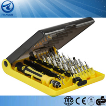 Precision 45 in 1 Torx Screwdriver Tweezers Case Cell Phone Repair Kit Tool Set 45-in-1 screwdriver set