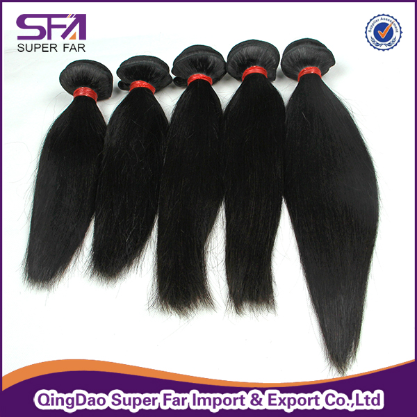 Brazilian straight hair weave expression hair extensions