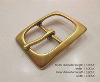 custom zinc alloy/copper pin belt buckles