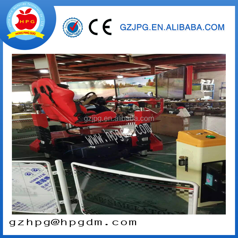 coin operated driving car simulator racing /car/speed game machine