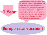 Europe IKS CCCAM account with 1 year,
