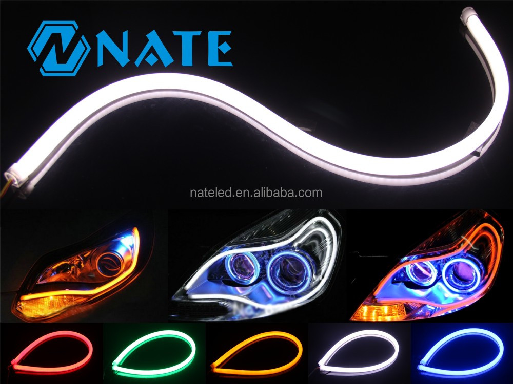 used car parts 16cm 30cm 45cm 60cm 85cm led neon flexible tube led auto headlights buy led. Black Bedroom Furniture Sets. Home Design Ideas