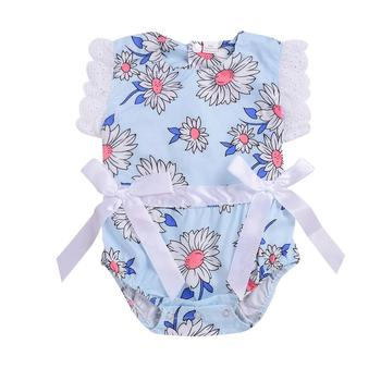 2019 new fashion from china summer infant baby girls lovely clothes rompers