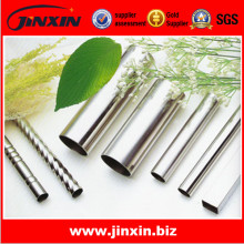 Stainless steel spiral pipes sqaure pipes and round pipes