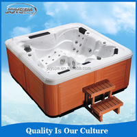 CE Approved PVC Skirt Outdoor Spa Sex Japan Massage Sex Video TV Hot Tub
