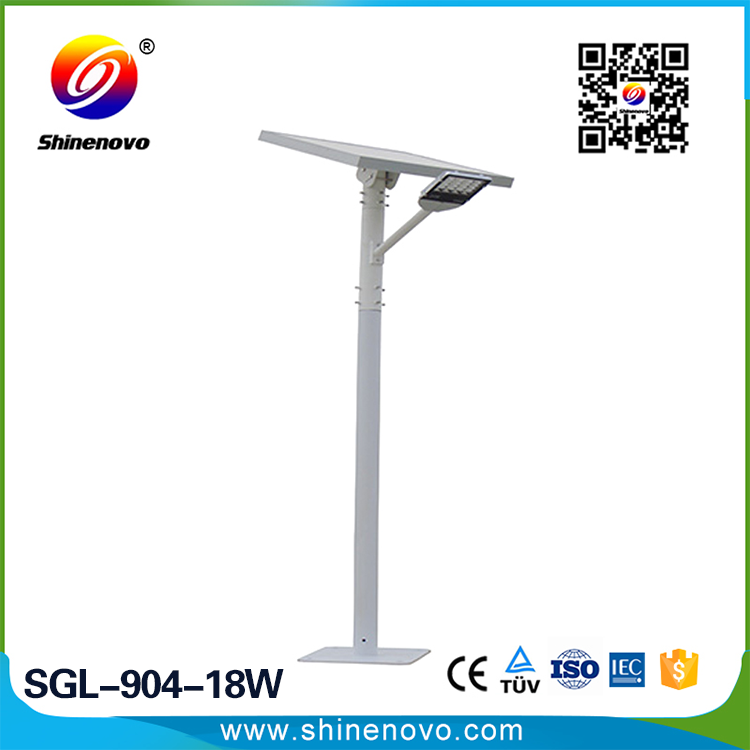 High Quality Safety 18w High end solar led garden light