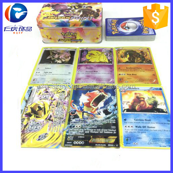 2017 New design 42PCS Pokemon Cards