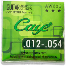 Guitar Accessories CAYE Acoustic Guitar Strings for Acoustic Guitar