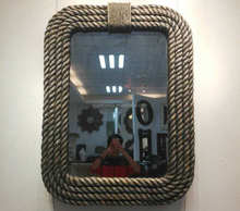 design decorative mirror strips rattan wal frame mirrors