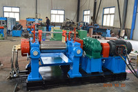 Discount price open mixing mill rubber machine two roll mixing mill machine