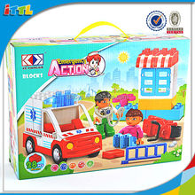 2014 new children educational toy medical plastic brick set toy