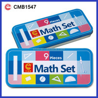 9pcs School Oxford Math Set