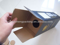 2013 New design beautiful custom strong E flute box