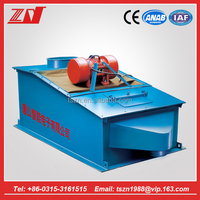 High frequency auto electronic vibrating screen for washing cement powder