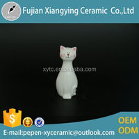 2015 Hot Lowest Cost Pottery Gifts Customized Oem Recycled Antique Ceramic Cats For Wedding Decoration