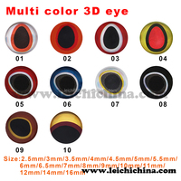 Sticker fish lure eye 3d holographic