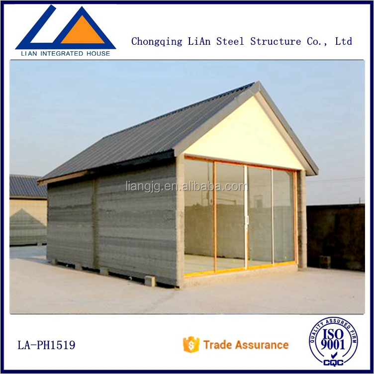 Modern Tiny Sandwich Panel Prefab House Suriname