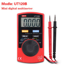 UT120B Pocket Size Type DMM Digital Multimeter /Capacitance & Frequency Test Multimetro Ammeter
