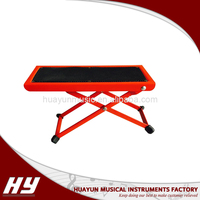 High quality red classical guitar pedal footstool