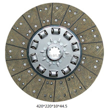 Heavy truck clutch disc,420 driven disc assembly for Foton truck