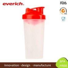 24oz BPA Free Plastic Personalized Protein Shaker Bottle With Mixer Ball